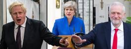 Johnsons och Corbyns planer för att peta May
