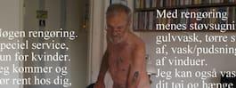 Lars Bo Kristensen har inga större problem med att någon fluktar på honom.  Nu erbjuder den 63-årige naturisten en service av det lite ovanligare  slaget  ... c42d7c3a7b8e5