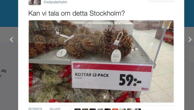 Kottarna får folk att skratta åt Stockholm