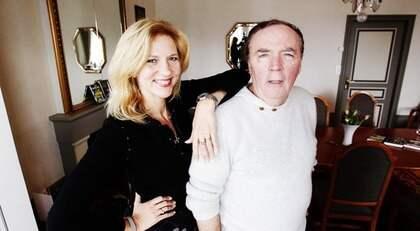 """DUBBELDECKARE. Den svenska deckardrottningen Liza Marklund och den amerikanska deckarkungen James Patterson skrev """"Postcard killers"""" tillsammans - nu vill Hollywood göra film av boken. Foto: Cornelia Nordström"""