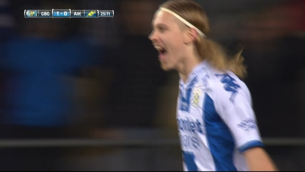 Här tar Göteborg ledningen mot AIK