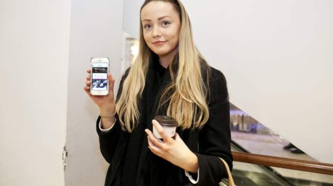 """Vad tycker du om Nya Omtalat? Linnea Paulsson, 19, restaurangbiträde , Stockholm : Jag vill läsa mer om """"rättvist"""". Det är något som tilltalar mig. Det känns som att det kommer handla om viktiga frågor och nyheter. Foto: Evelina Carborn Exp"""