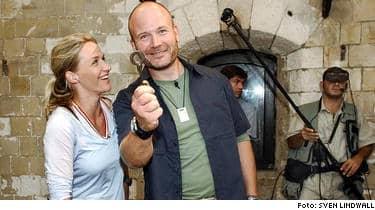 Kristin Kaspersen och Hans Fahén är återigen programledare på Fort Boyard.