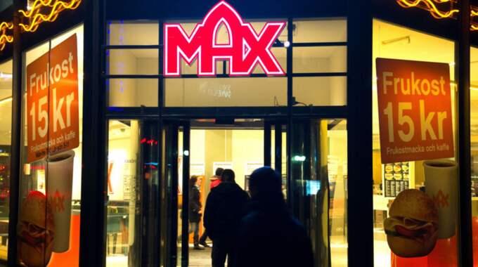 Dan Oskarsson mötte biltjuven när båda åt lunch på Max. Foto: Tommy Pedersen