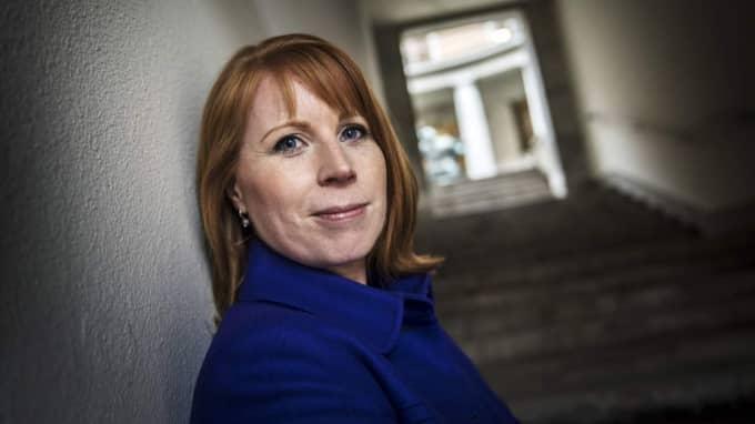 Annie Lööf, partiledare (C). Foto: Yvonne Åsell / Svd / Tt