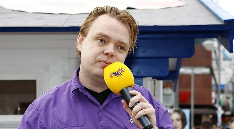 Rick Falkvinge valtalar vid Expressens valstuga 2010. Foto: Cornelia Nordström