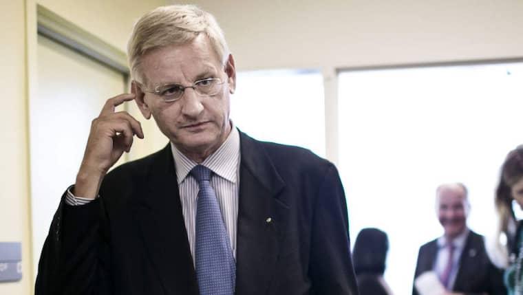 Carl Bildt berättar om vad som hände i samband med en av hans resor till Afghanistans huvudstad Kabul 2009. Foto: Pontus Höök