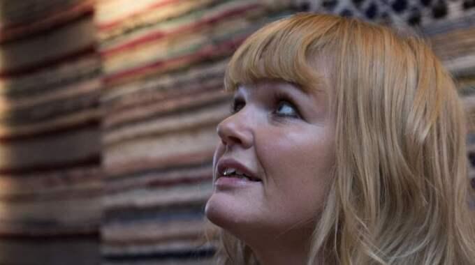 Egoboost. Belinda Olssons omtalade program är en enda lång voice-over - om Belinda Olsson. Foto: Per Wissing