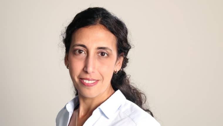 Katrin Kisswani, ordförande för Läkare utan gränser. Foto: / ALEXANDER UGGLA/MSF