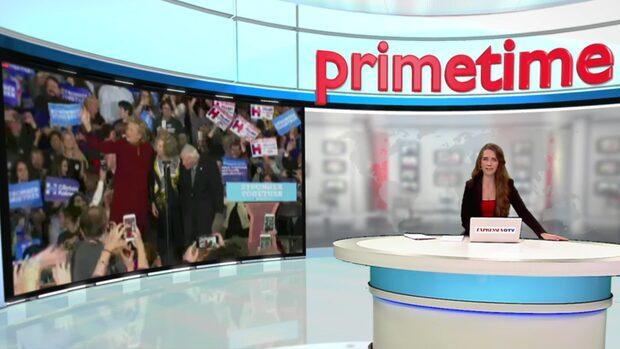 LIVE-TV: Clintons kampanj går vidare i Pittsburgh
