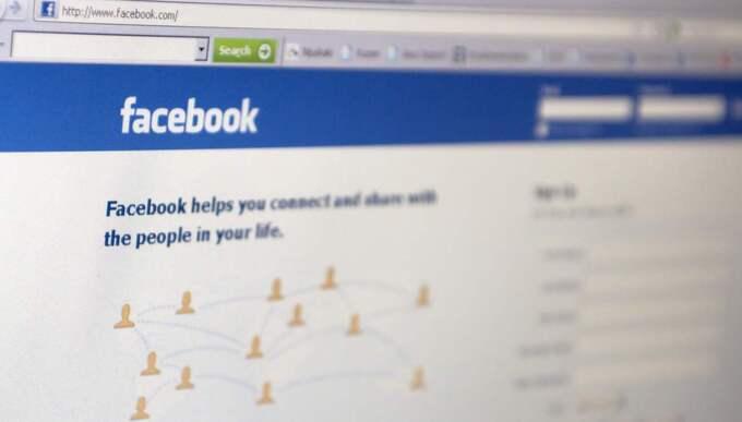 En hotad kvinnas hemliga ort röjdes på Facebook.