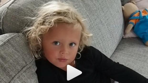 4-åriga Naomis kärleksförklaring till Samir gör succé - nu har Samir svarat