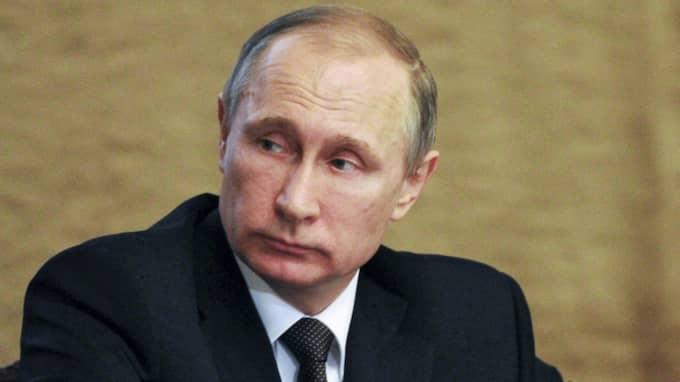 Rysslands president Vladimir Putin Foto: Mikhail Klimentyev