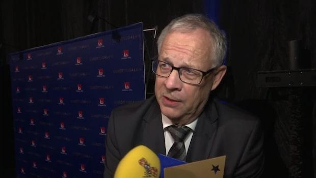 """Lagerbäck blev Årets ledare: """"Jätteskoj"""""""