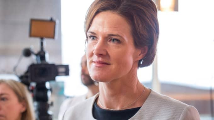 Största partiet just nu är Moderaterna med Anna Kinberg Batra som partiledare. Foto: Pelle T Nilsson