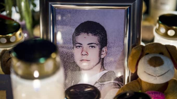 Arminas Pileckas, 15, höggs ihjäl med en kniv i hjärtat på Göingeskolan i Broby. Foto: Tomas Leprince