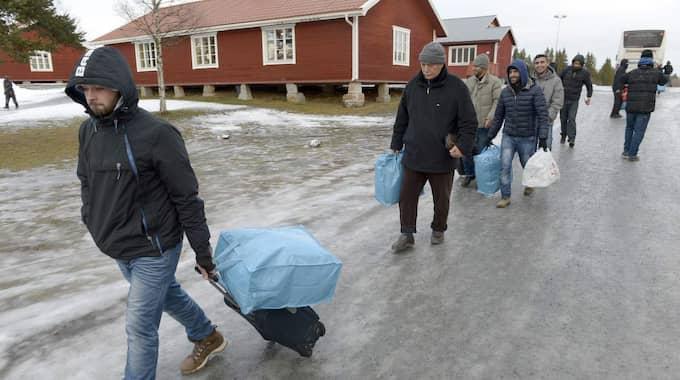 Migrationsverket och de protesterande flyktingarna har nu kommit överens. Foto: Gunno Rask