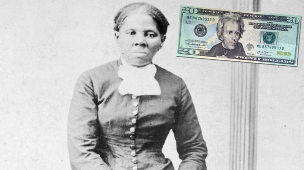 Harriet tubman ers 228 tter andrew jackson p 229 20 dollarsedeln