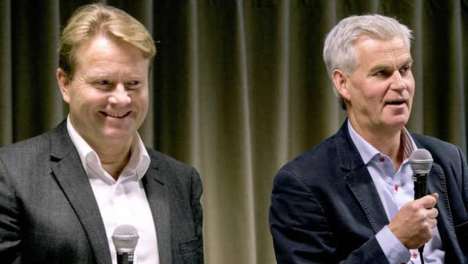 Mats Jingblad och Nanne Bergstrand Foto: Niklas Larsson