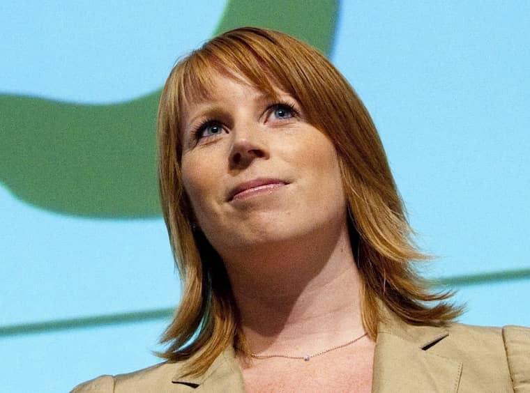 Annie Lööf nomineras som ny partiledare för Centerpartiet. Foto: Adam Ihse / Exponera