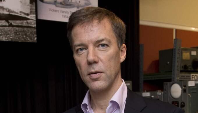 Fredrik Wallin, talesperson i signalspaningsfrågor på FRA. Foto: Sven Lindwall