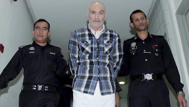Svenske Ferry, 49, döms till döden i Malaysia
