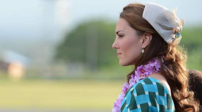 Kate Middleton smygfotades topless under sin semester vid ett privat slott i Provence i Frankrike. Foto: James Whatling/Corbis