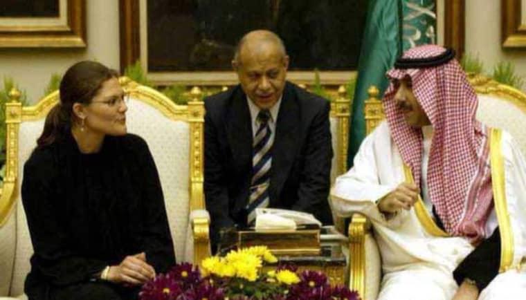 """Ledde delegation. Enligt den nya boken """"Saudivapen"""" ledde kronprinsessan Victoria en handelsdelegation som fick saudierna att köpa det svenska radarsystemet. Foto: CHARLES HAMMARSTEN/All over press"""