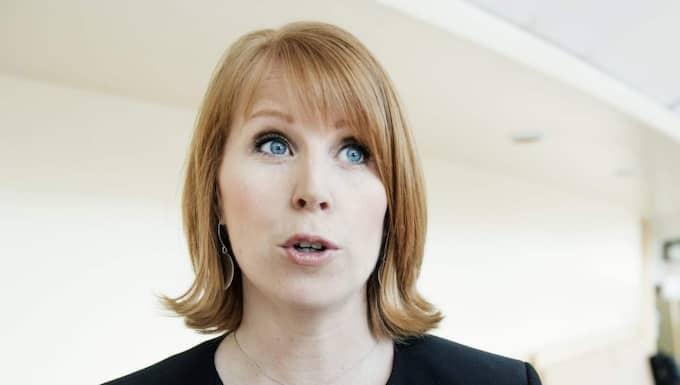 """Hyckleri"", säger Annie Lööf. Foto: Olle Sporrong"