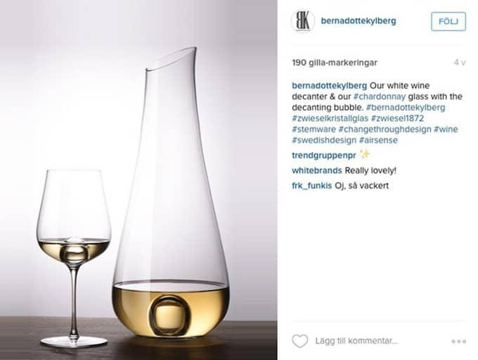 Nya designen visas upp på Instagram. Foto: Skärmavbild/Instagram