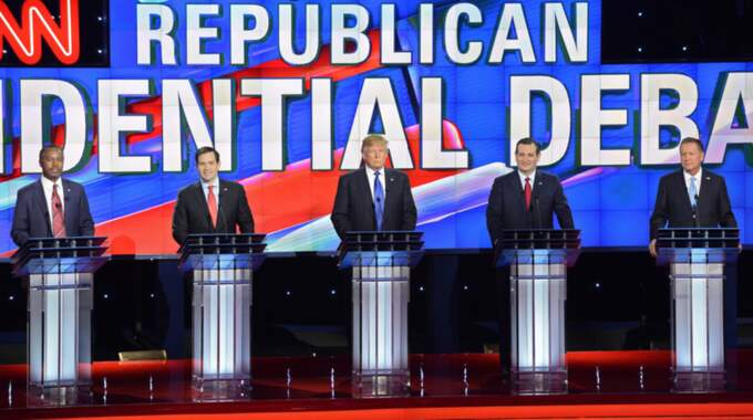 Ben Carson blev ignorerad i debatterna. Foto: Larry W. Smith / Epa / Tt