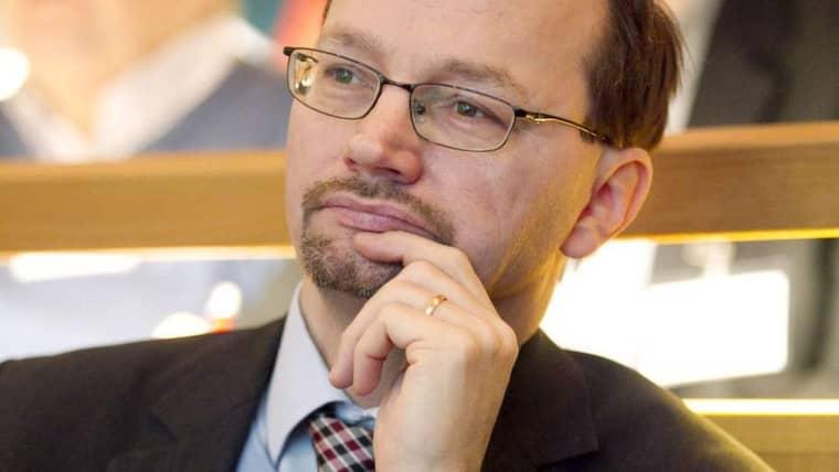 Tomas Eneroth, S, vice ordförande i riksdagens Socialförsäkringsutskott. Foto: Sven Lindwall