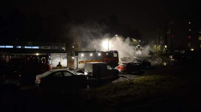 Polisen misstänker att händelsen varit planerad. Foto: Alexander Donka