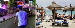 Flera sexbrott på Mallorca – svensk turist drabbad