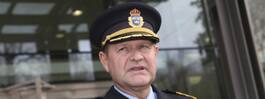 Rikspolischef Dan Eliasson får pris