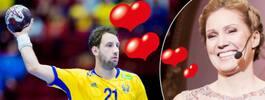 Jessica Almenäs kärlekshyllning till handbollsspelaren