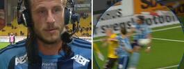 Jonas Olsson pressad av Brolin: