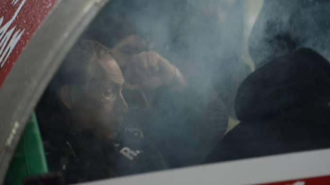 Det var rökigt på Hannovers bänk. Foto: Imago Sportfotodienst