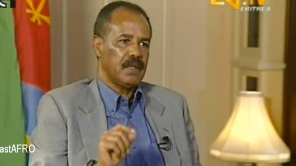 Isaias Afewerki.