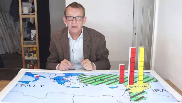 Professor Hans Rosling. Foto: GAPMINDER.ORG