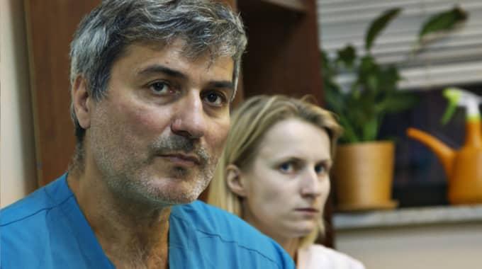 Paolo Macchiarini. Foto: SVT