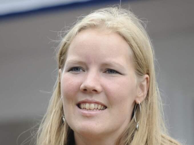 EMMA HENRIKSSON Gruppledare i riksdagen. Har hittills inte velat svara på frågan om hon är intresserad av att bli partiledare. Foto: Jan Düsing
