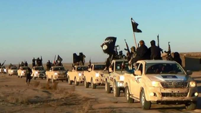 Flickan misstänks ha planerat att ansluta sig till IS. Foto: AP