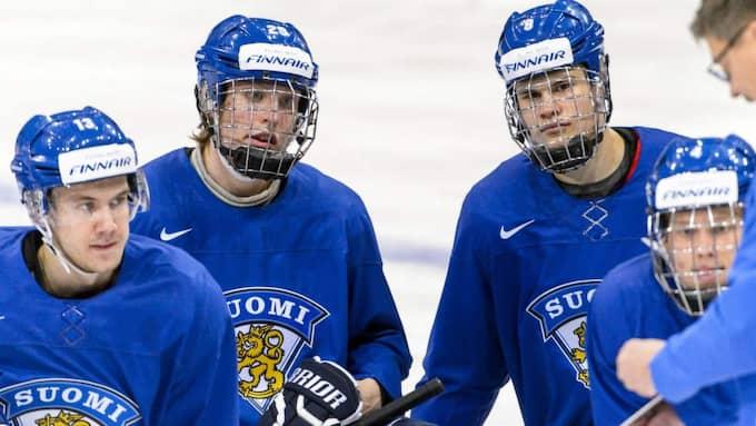 Patrik Laine och Jesse Puljujärvi Foto: Olle Wande