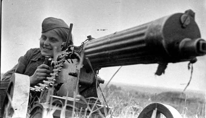 BRÄNNMÄRKT. Sovjetiska kvinnor som slogs i andra världskriget blev skuldbelagda och social paria. Foto: Arkiv
