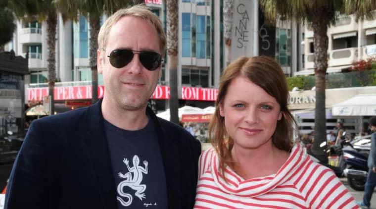 """När Ulf Malmros gör film är det han som bestämmer, menar han bestämt. Hans nya projekt är filmen """"Flickan från mars"""", som bästa kompisen Michael Nyqvist ska spela huvudrollen i. Här syns Malmros med Expressens Malin Roos. Foto: Malin Roos"""