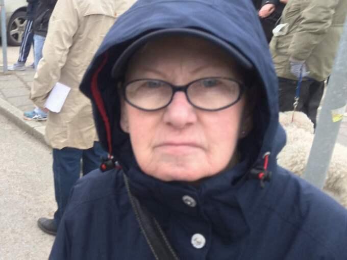 Vad händer i lilla Uddevalla? Det är helt fruktansvärt, säger Margot Magnusson. Foto: Privat