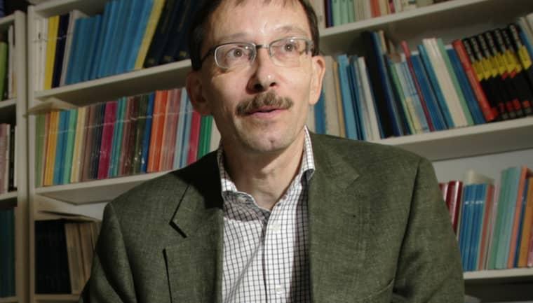 Lars Calmfors, professor i nationalekonomi.. Foto: Martina Huber