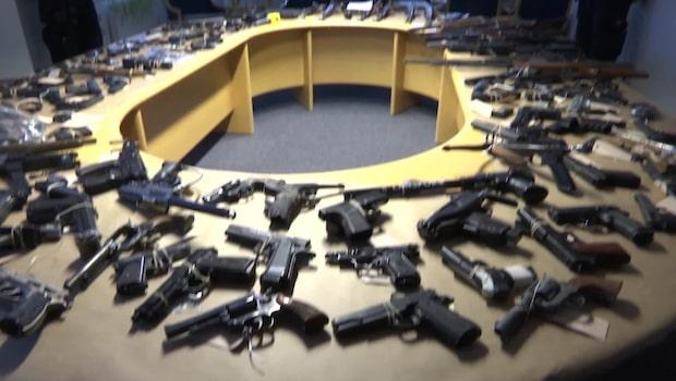 Här är vapnen som satt skräck Skåne