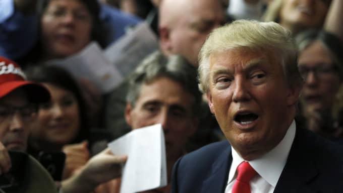 Trump menar att Cruz stal segern i Iowa Foto: Matt Rourke